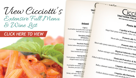 View The Menu